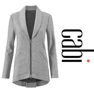 Cabi 5300 Dropoff Gray Soft Blazer Jacket